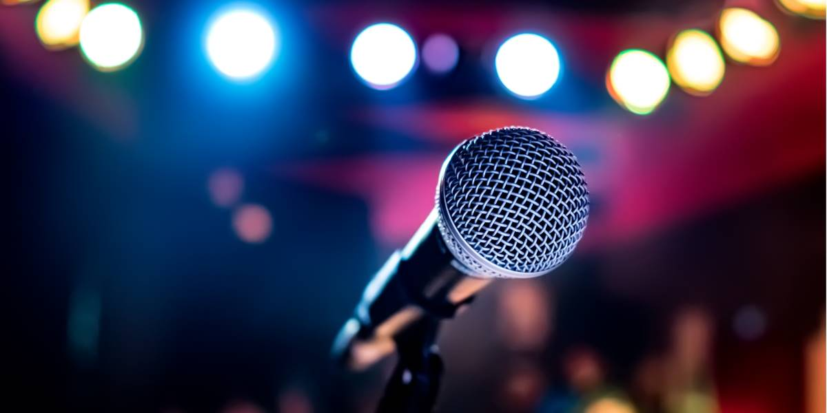 Il vincitore di Sanremo 2020 Diodato - Microfono