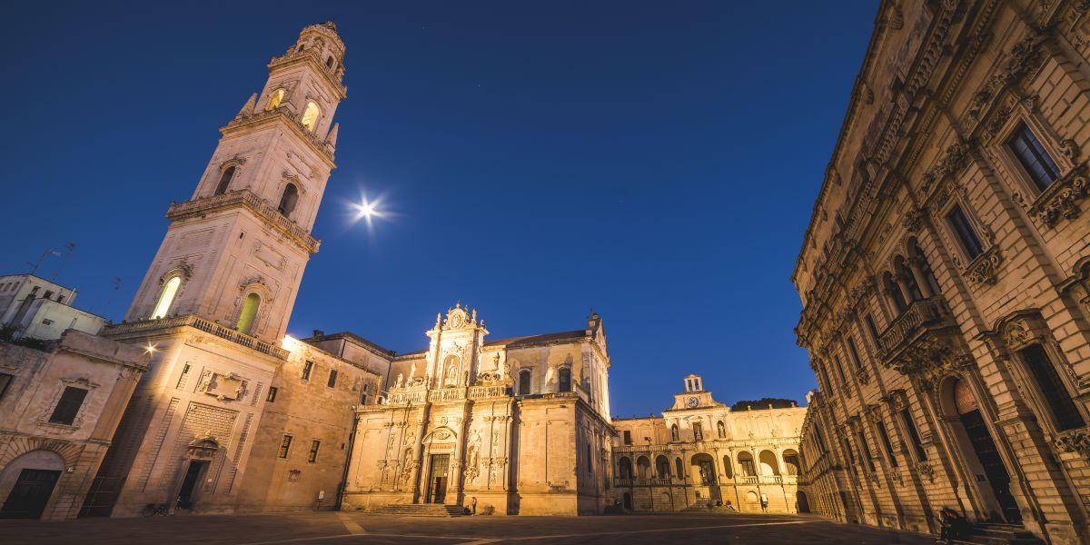 Sfilata Dior a Lecce - Piazza del Duomo di Lecce