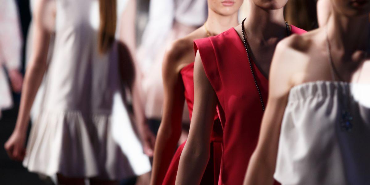 Sfilata Dior a Lecce - Modelle che sfilano